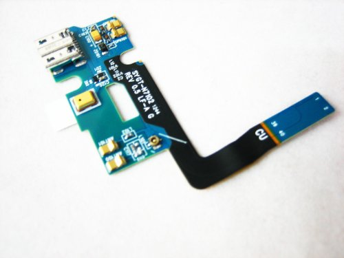 Samsung Galaxy Note 2 Ii Gt-N7100 ~ Usb Dock Connector Charging Port + Microphone Flex Cable Ribbon ~ Mobile Phone Repair Part Replacement