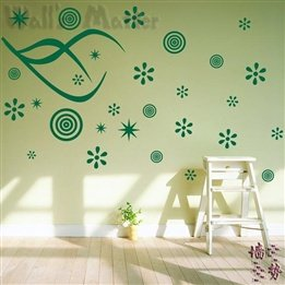 Large Snowflake Flower Kids Living Room Removable Wall Art Modern Decal Home Decor Wall Stickers front-209292