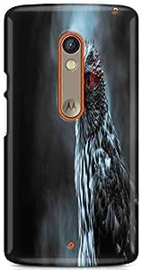KSC Desginer Printed Hard Back Case Cover For Motorola Moto X Play