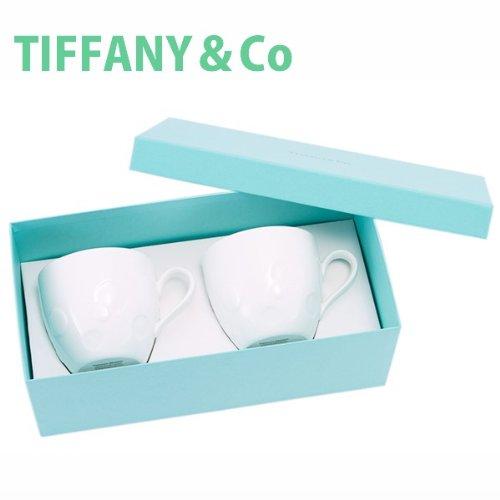ティファニー TIFFANY&Co マグカップ ペアカップ ムーン マグ ボーンチャイナ 洋食器 陶器 2点セット 220ml