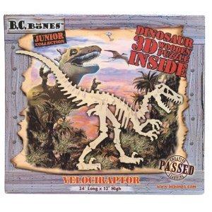 Cheap BC Bones 3D Wood JR Velociraptor Puzzle (B000J5AABU)