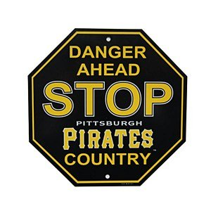 Pittsburgh Pirates Stop Sign