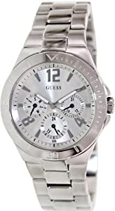 GUESS U11645L1 Active Shine Watch, Silver