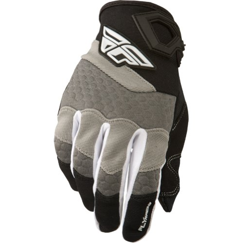 Fly Racing Fly14 F-16 Gloves , Gender: Mens/Unisex, Primary Color: Gray, Size: 1, Distinct Name: Black/Gray 367-91001 image