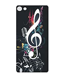 Techno Gadgets Back Cover for Micromax Bolt D321