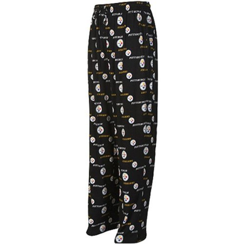 Reebok Pittsburgh Steelers Printed Flannel Lounge Pants (X-Large) at Steeler Mania