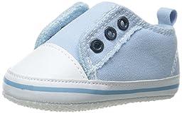 Luvable Friends Laceless Sneaker (Infant), Blue, 6-12 Months M US Infant