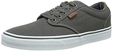 Vans M Atwood Deluxe, Men Skateboarding Shoes, Grey (Pewter/Guatemala), 5.5 UK (38/39 EU)