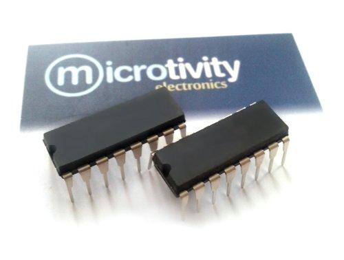 microtivity Pack of 2 L293 Quadruple Half-H Driver ICs