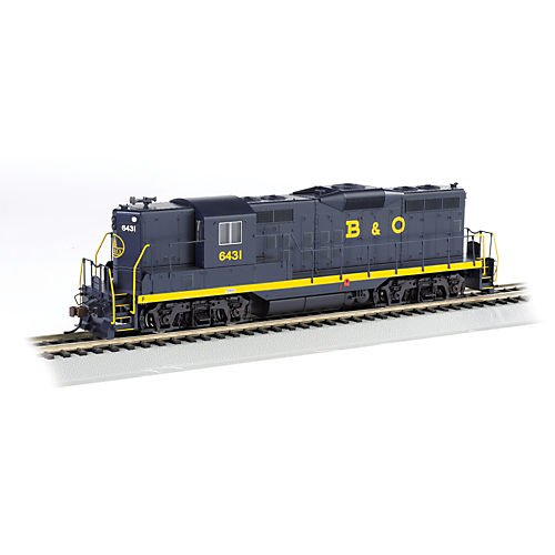 HO GP9 w/DCC, B&O/Capital Dome #6431