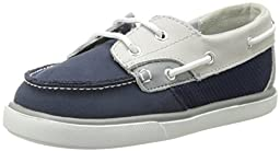 Baby Deer Deck Dress Shoe (Infant/Toddler),Navy,3 M US Infant