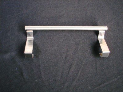 STAINLESS STEEL BATHROOM OVER CABINET TOWEL BAR RAIL