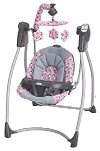 Graco Lovin' Hug Swing With Plug-In, Ally (Discontinued by Manufacturer)