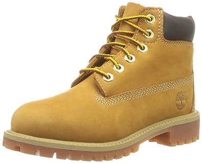 Timberland 6in Premium WP Boot Wheta Nubuck, Gr. 26 (US9), Braun (Wheat Nubuck)