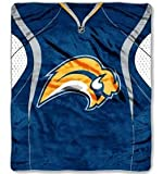 NHL Buffalo Sabres Jersey Raschel Throw, 50 by 60-Inch