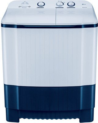 LG P7258N1FA Semi-automatic Top-loading Washing Machine (6.2 Kg, Dark Blue )