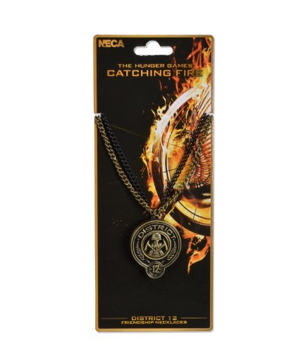 NECA The Hunger Games: Catching Fire Friendship District 12 Necklaces - 1