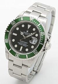 [ロレックス]ROLEX 腕時計 ロレックスLVサブマリーナデイトブラックグリーンベゼルメンズ Ref.16610 [並行輸入品]