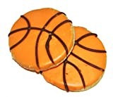 Pawsitively Gourmet Basketball Cookies Bakery Dog Treats-Sweet Potato Recipe (pack of 20)