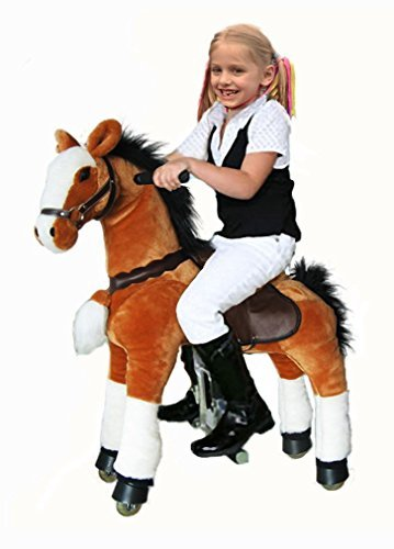 Riding Toys Age 5 : Rocking horse and hobby go kids pony ride ons