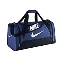 NIKE Brasilia 6 Small Duffel Bag BA4831 411 Game Royal/Black/White