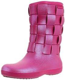 Crocs Women's Super Molded Iridescent Weave Boot