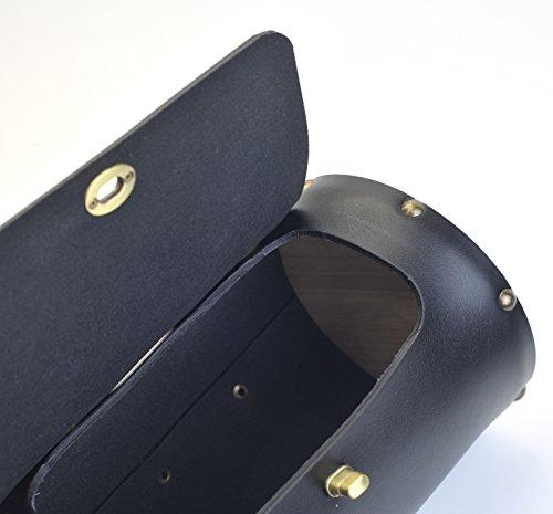 Vintage Bike Pure Leather Front Handlebar or Saddle Big Handle Bag 3L 5