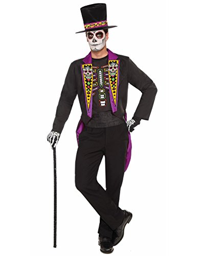 Forum Novelties Men's Day Of The Dead Formal Costume