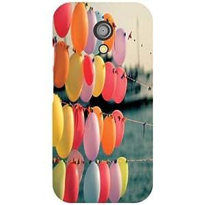Motorola Moto G (2nd Gen) Back cover - Balloons Designer cases