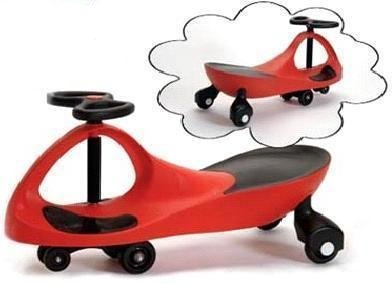 ProSource Premium Red Wiggle Scooter Car
