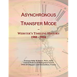 a history of asynchronous transfer mode atm Short for asynchronous transfer mode, a network technology based on transferring data in cells or packets of a fixed size the cell used with atm is relatively small.