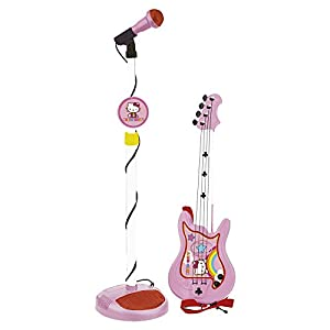 Reig Hello Kitty Guitar and Microphone