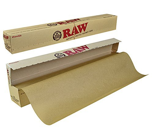 RAW Unrefined Parchment Paper Roll 400mm x 15m (Parchment Paper Chlorine Free compare prices)