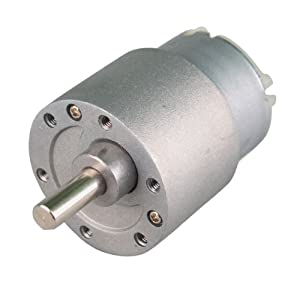 HOSSEN® 30RPM Mini Gear Box Electric Motor 12V DC 37MM High Torque from hossen