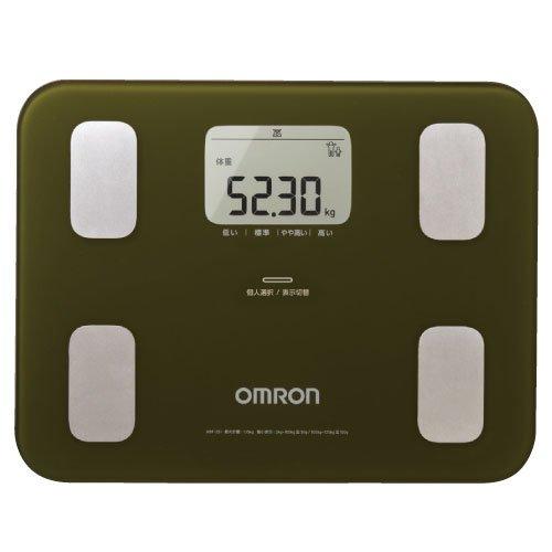 オムロン 体重体組成計カラダスキャン HBF-251-G(グリーン)