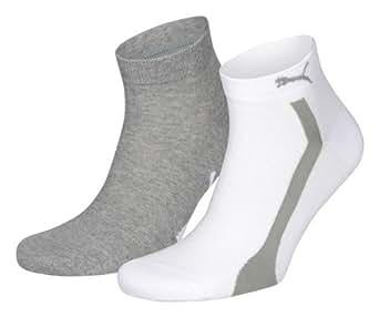 Puma - Chaussettes - Mixte Adulte - Blanc (White) - 43-46