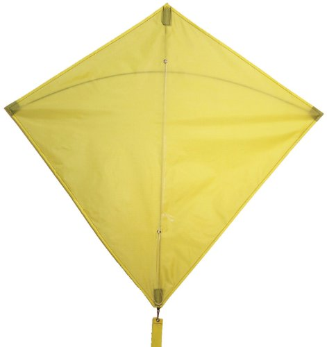 In the Breeze Yellow Diamond Kite, 30-Inch