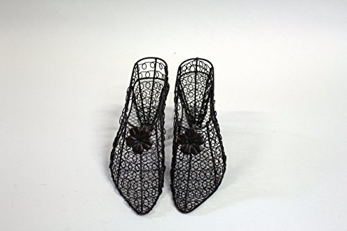 Set of two Rustic Vintage Style Iron Wire Metal High Heel Pumps Shoe Basket Decor (Decorative Metal Dress Form compare prices)