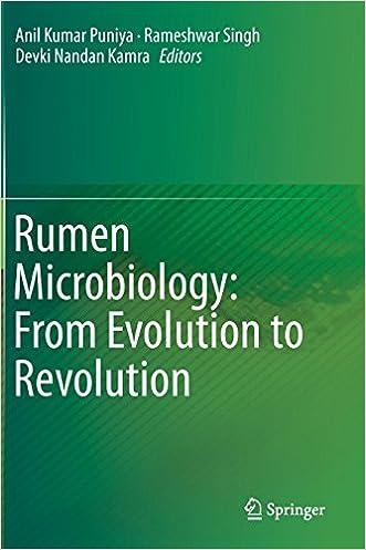 Rumen Microbiology: From Evolution to Revolution written by Anil Kumar Puniya