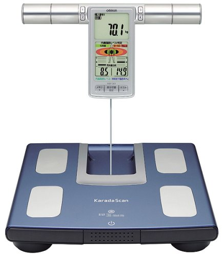 Image of Omron KARADA Scan Body Composition & Scale | HBF-361 (Japanese Import) (HBF-361)
