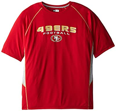 NFL Short Sleeve Crew Neck Synthetic Tee