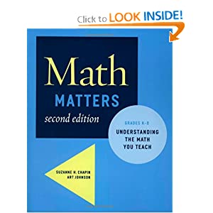 Math Matters: Understanding the Math You Teach Grades K-8, 2nd Edition
