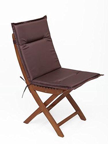 Sitzkissen, Stuhlkissen, Stuhlauflage für Gartenmöbel & Gartenstuhl günstig