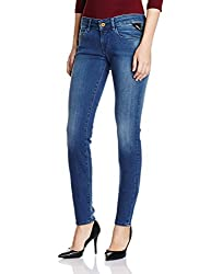 Replay Womens Skinny Jeans (WX613 .000.41A 605_Medium Blue_30)