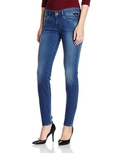 Replay Damen Skinny Jeanshose WX613 .000.41A 605 Gr. W30/ L32 (Herstellergröße: 30) Blau (Blue Denim 9) thumbnail