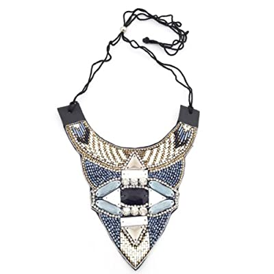 Art Deco Sequined Collar