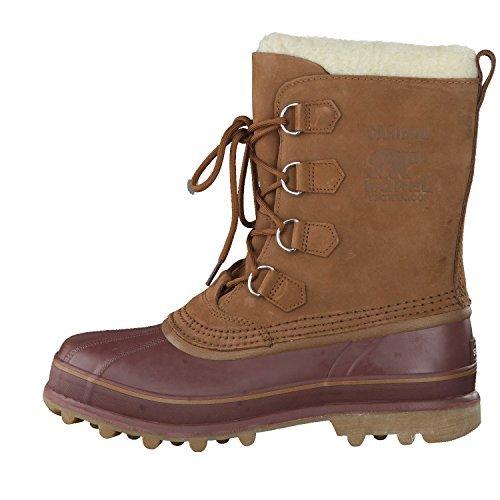Sorel Men's Caribou Waterproof Boots-Cinnamon/Madder Brown-7.5