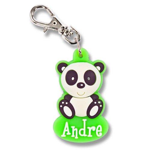 Zipper Pals Reißverschlussanhänger für Kinder Anhänger Pandabär Andre