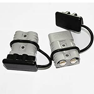 Amazon Com X Haibei Winch Quick Connect Jumper Cables Kit