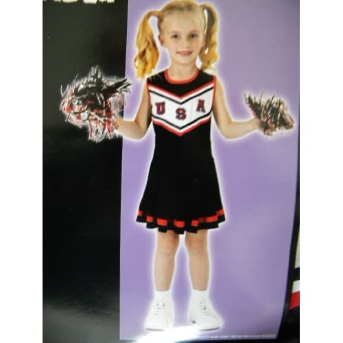 Amazon.com: USA Girls Cheerleader Costume Small